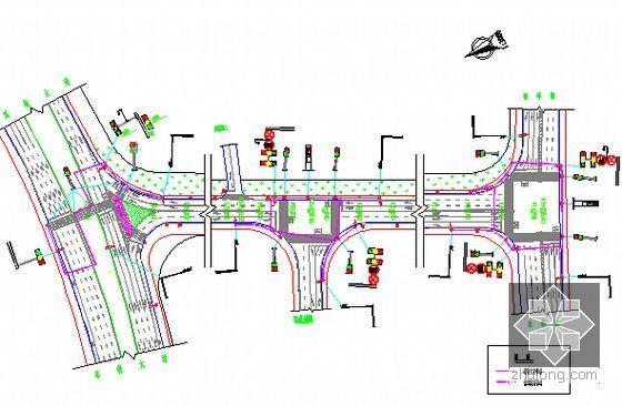 交安管线平面图