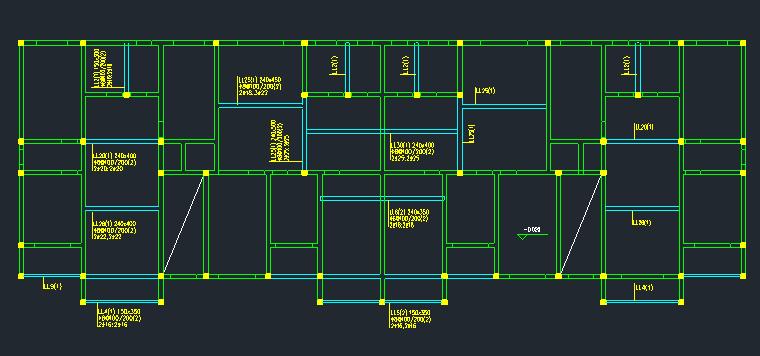 6层框架结构住宅楼建筑结构全套图_5
