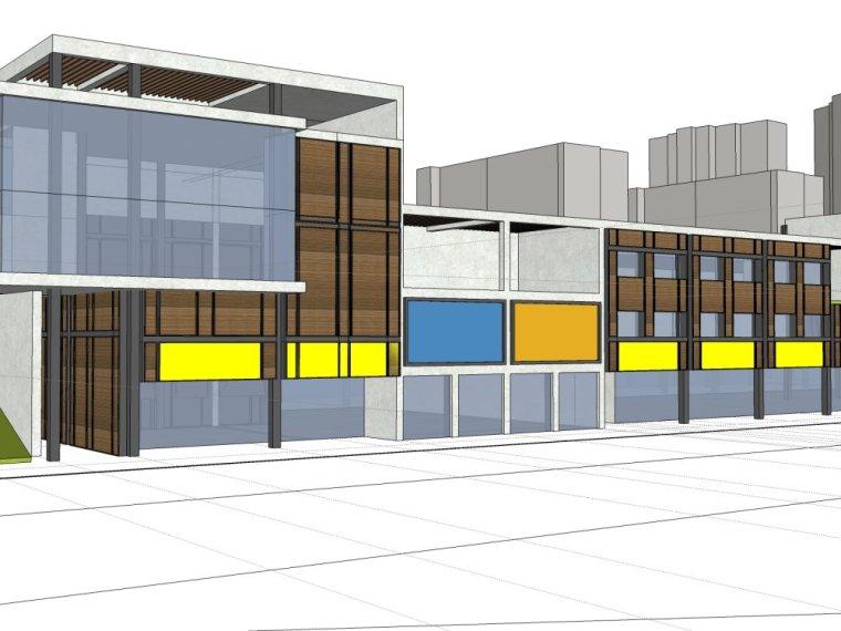 规划住宅现代高层平面立面总图skp+商业商业街平面立面总图-521521ff2edad7e0e1cabae6fc5bdfe6