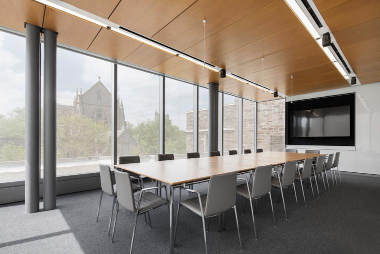 哥特式学术建筑普林斯顿大学校园内部实景图 (14)
