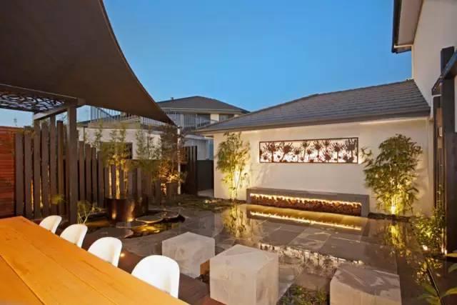 赶紧收藏!21个最美现代风格庭院设计案例_164