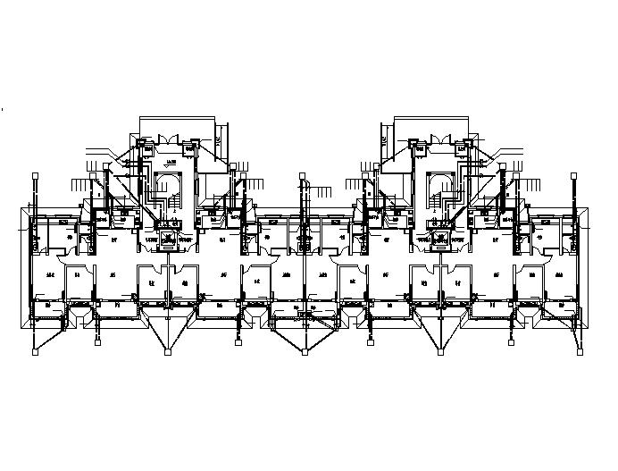 珍宝岛-雍景和府水电全套设计施工图(甲级设计院)