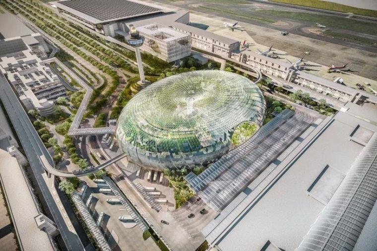 """[鋼結構·建筑]全球""""最好玩""""的樟宜國際機場——終于要與大家見"""