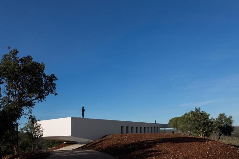 葡萄牙雕塑艺术般写意的住宅-1551071426653946