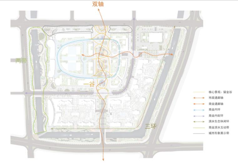 [浙江]宁波银泰匯城市规划景观概念性设计(现代风格)_11