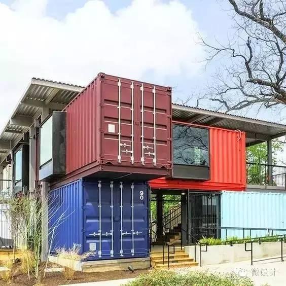 回乡下造了栋集装箱豪宅,美的一塌糊涂_38