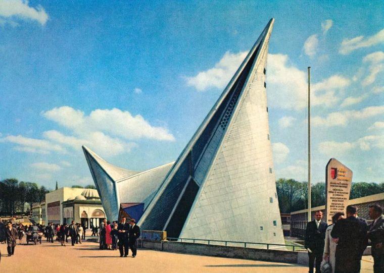 经典唱片封面上的著名建筑