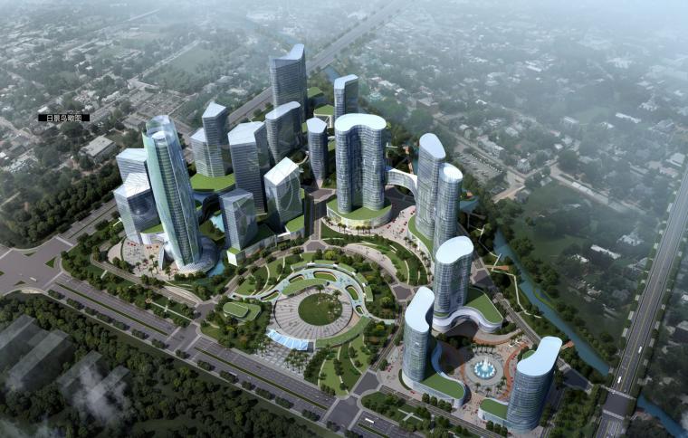 [浙江]海宁中央生态商务区(ECBD)经济地块建筑规划方案设计文本(高端商务,星级酒店)