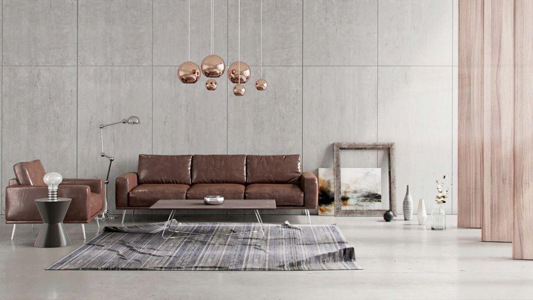 现在客厅都流行这么装,快扔掉你家笨重的大沙发吧!_1
