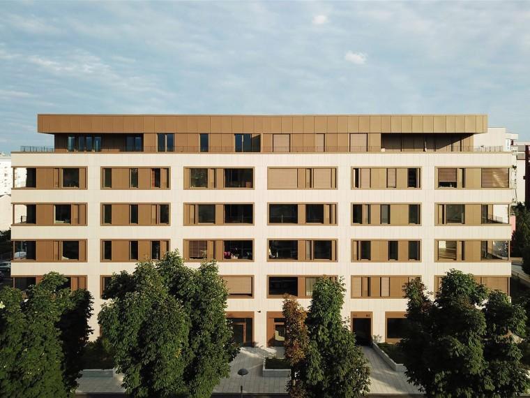 克罗地亚Bužanova公寓楼