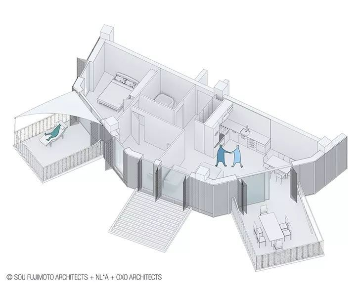 """藤本壮介设计的像树一样的公寓楼建成了,每户都有""""空中花园""""_29"""