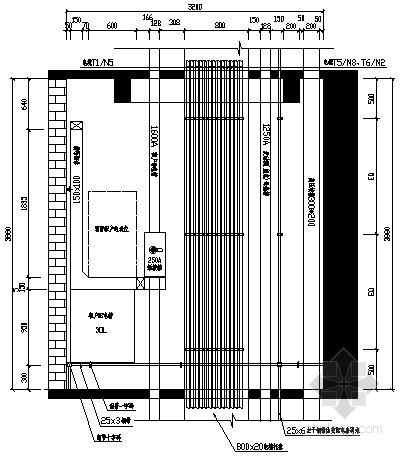 超高层建筑配电房电气施工图纸