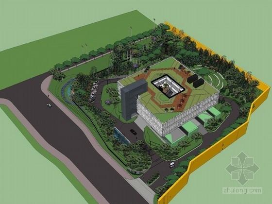 [北京]城镇化试点改造产业园规划设计方案