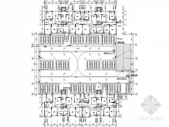 [山东]11层小型别墅式住宅给排水施工图纸(太阳能热水、空调冷凝水)