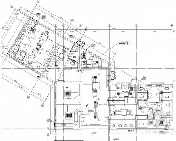 Isemachi公共厕所资料下载-[山东]公共厕所空调通风系统初步设计图(暗藏式多联机系统)