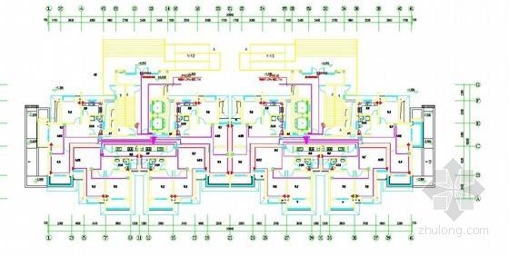 [江苏]2013年某限价房住宅小区25栋楼及地下车库智能化系统工程量清单(CAD226张)