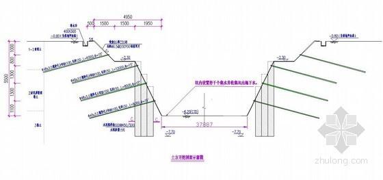 [江苏]高层住宅楼土方开挖施工方案(最大挖深5.50m)
