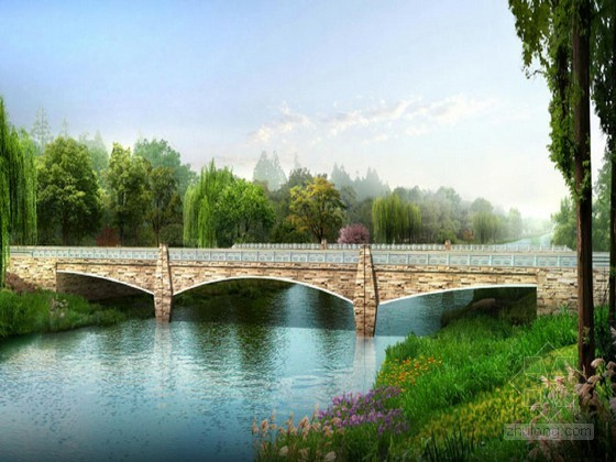 部分预应力简支T形梁桥下部结构设计(82页 双柱式桥墩)