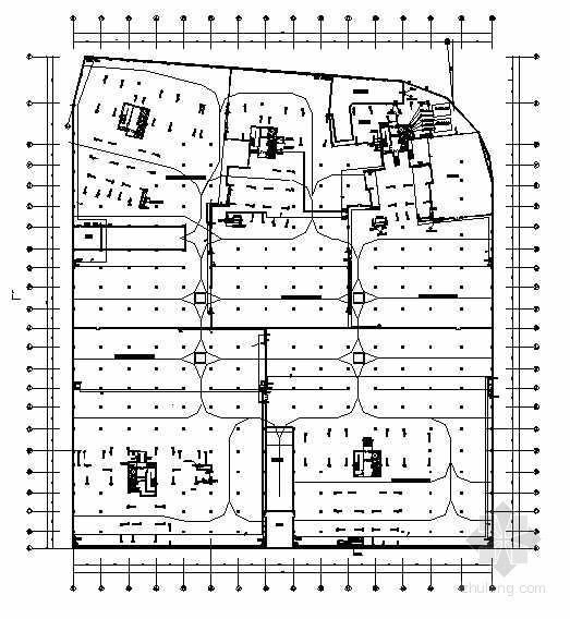 某高层住宅小区地下车库电气图纸