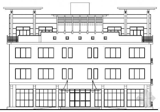 某四层厂房办公楼及配套厂房建筑施工图