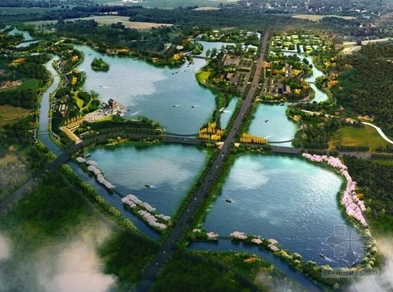 [四川]生态湿地风景区景观改造规划设计
