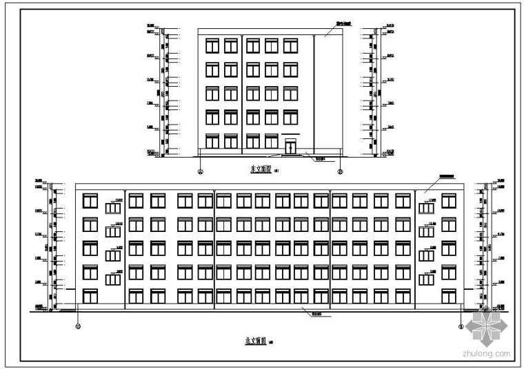 [学士]某技术专科学校图书馆毕业设计(含计算书、建筑结构设计图)