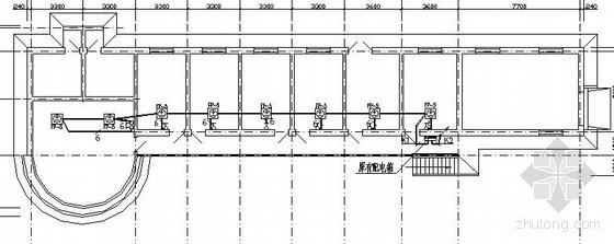 某车站二层办公楼采暖系统电气图纸