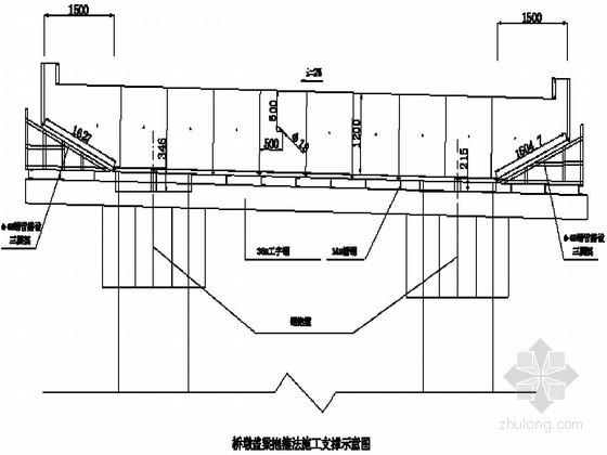[广东]立交桥工程桥墩盖梁抱箍法施工方案