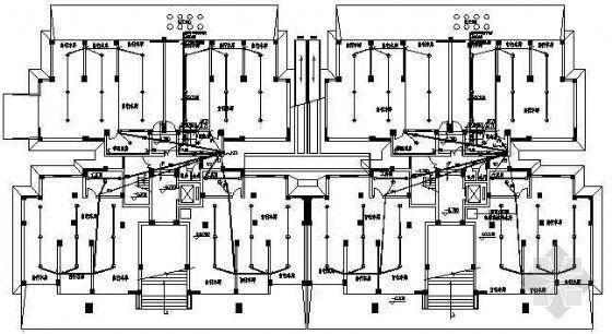 湖北某十一层住宅电气施工图