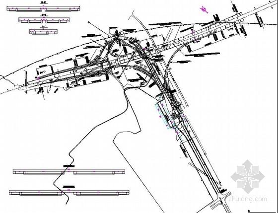 [福建]高速公路互通式立体交叉设计图(中交 全套)