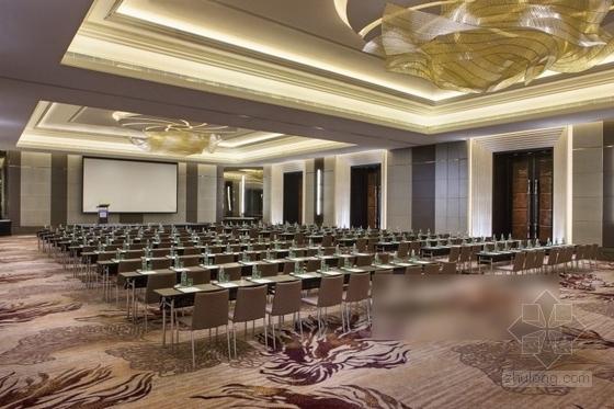 [厦门]中央商务区五星级豪华酒店装修图(含效果)会议室效果图