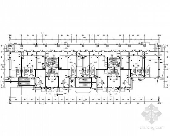 [内蒙古]综合住宅小区给排水全套图纸(共147张)
