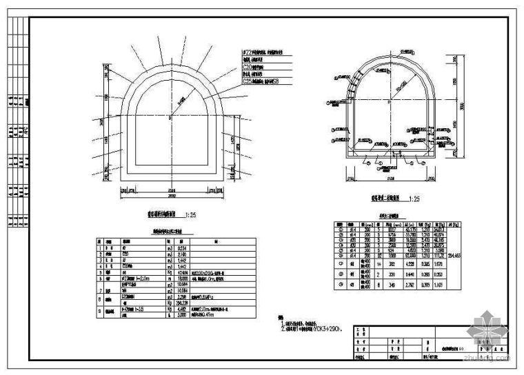 广州市轨道交通三号线工程某区间盾构法设计图