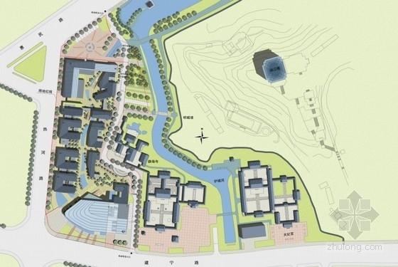 [南京]滨水商业街景观规划设计方案文本