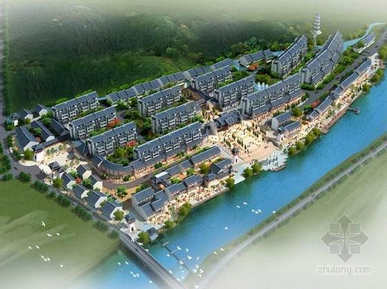 [湖北省]某南漳古镇概念设计方案