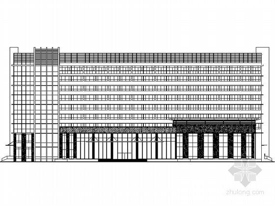 [郴州]某九层国际大酒店建筑施工图(含效果图)