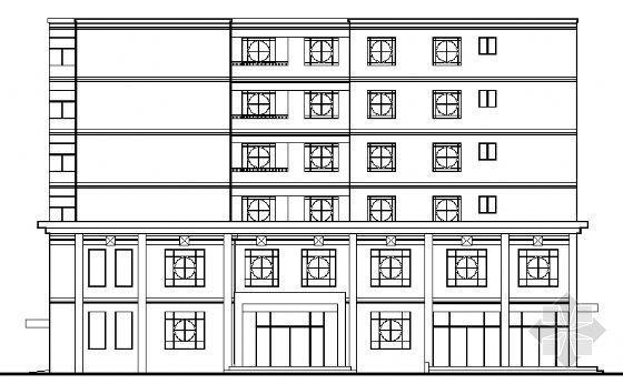 某派出所六层综合楼建筑施工图
