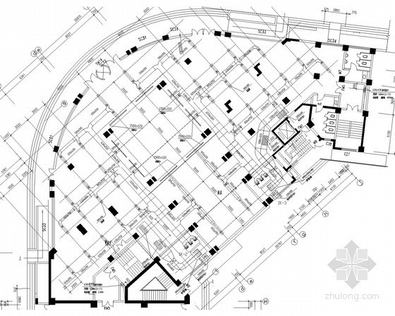 住宅综合楼舒适性空调及制冷系统设计施工图