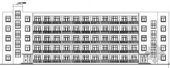 公司宿舍楼建筑施工图