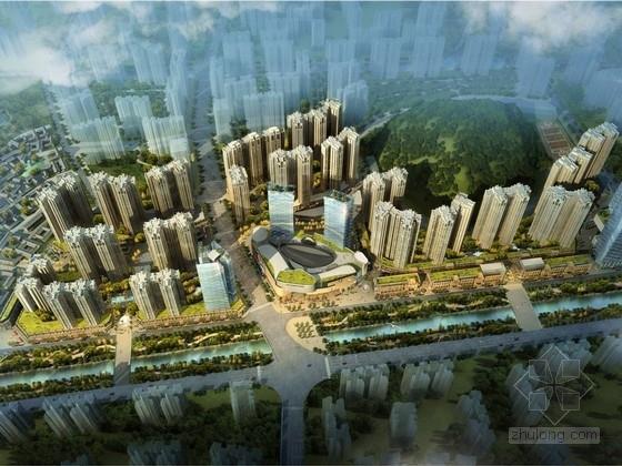 单体建筑酒店设计资料下载-[贵州]现代风格城市综合体及单体建筑设计方案文本