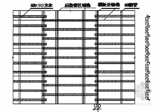 [浙江]框架核心筒服装大厦模板高支撑专项施工方案(专家论证  )