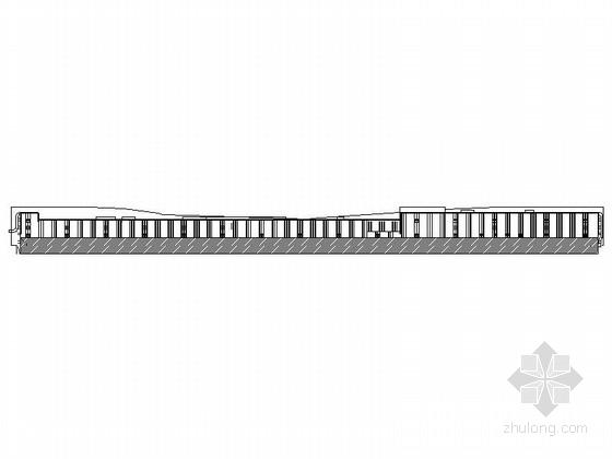 [浙江]5层国内知名商业广场建筑设计施工图(立面设计出色含效果图)