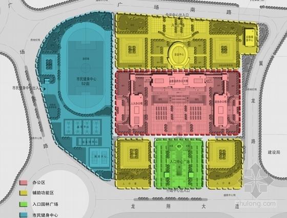 [江苏]时代标志性行政办公建筑设计方案文本-时代标志性行政办公建筑分析图