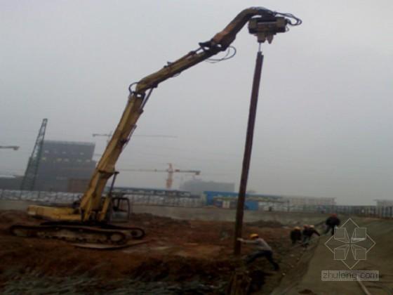 [广东]电梯井基坑钢板桩支护开挖施工方案