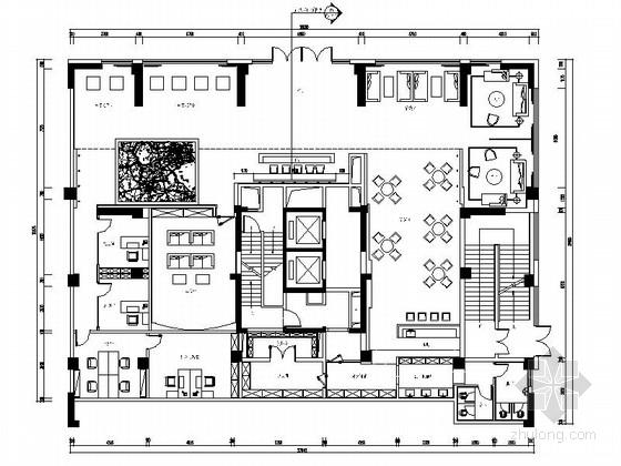大型连锁售楼处现代风格装修图(含效果)