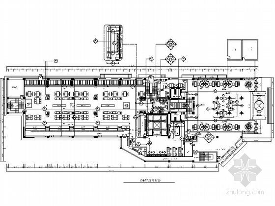 [北京]多功能综合性商务酒店高档休闲会所CAD装修施工图(含高清效果图)