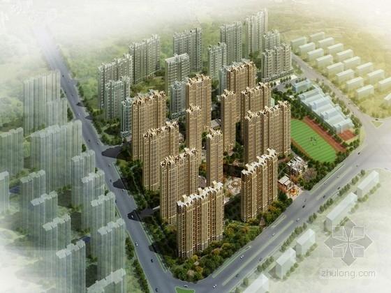 [安徽] artdeco风格高层住宅区规划设计方案文本