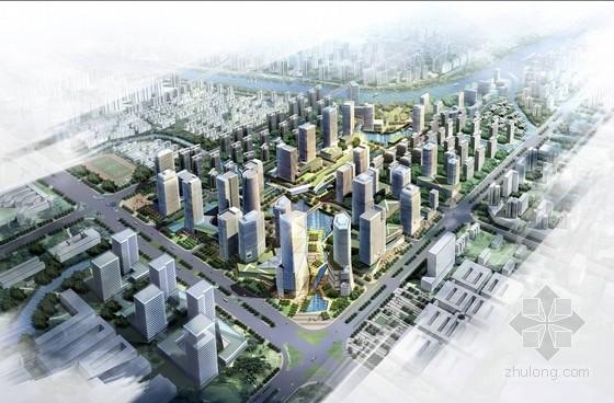 [浙江]现代风格城市片区设计方案文本