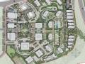 [重庆]绿色办公区商业综合体景观设计方案