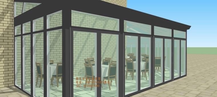 餐厅咖啡厅阳光房设计方案_10